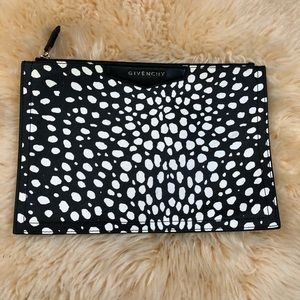 Givenchy Rare Spot Printed Cosmetic Clutch Pouch